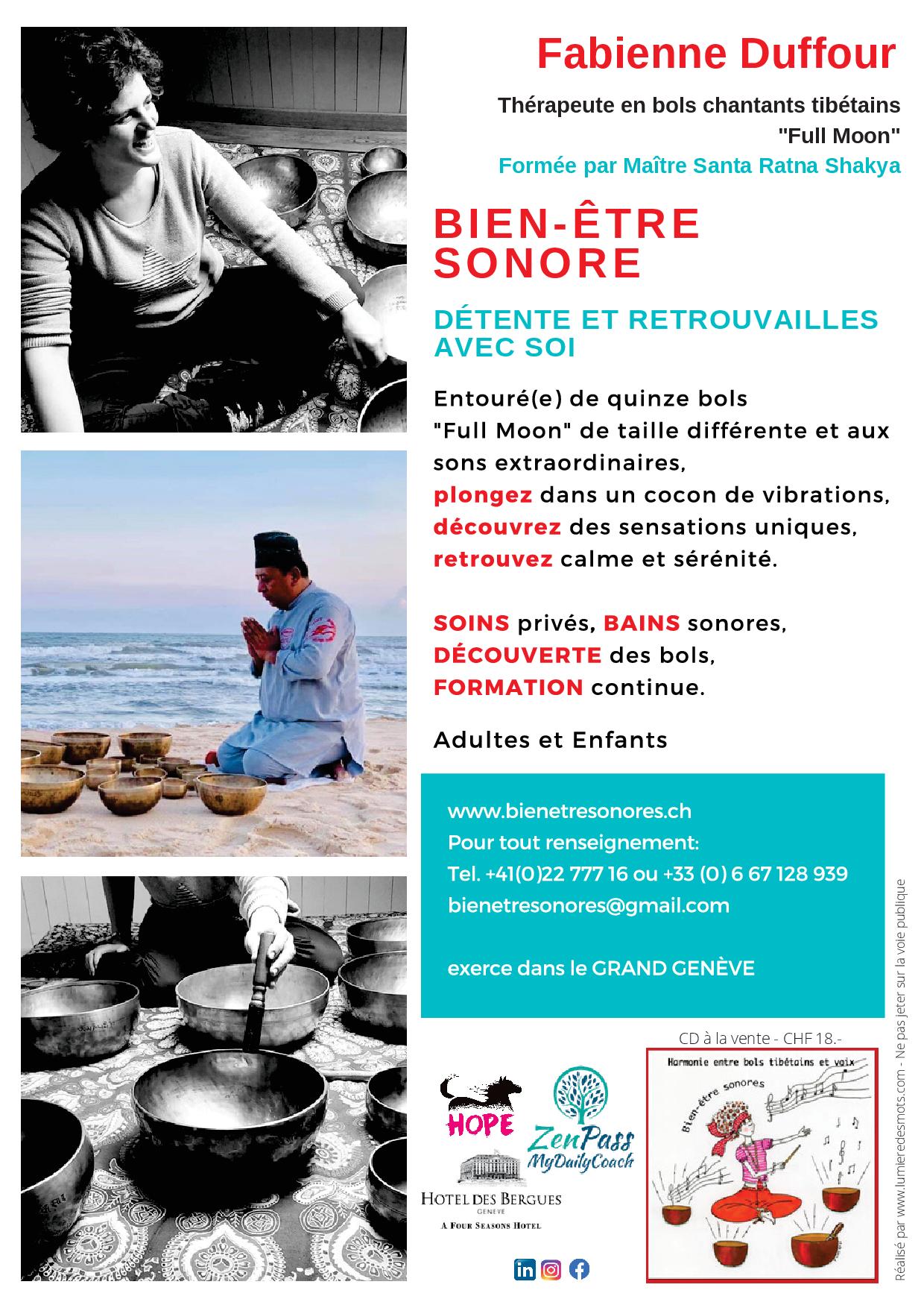 Fabienne Duffour - Flyer présentation 2020 - ©Bea Mogenier