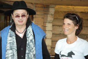 Annabel Brourhant avec le Chef Marc Veyrat - DR BM