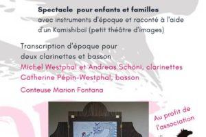 Spectacle pour familles - Di 12 mai à 17 h - Ecuries du Château de Neydens