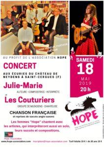 concert 18 mai 2019 aux Ecuries du Chateau de Neydens