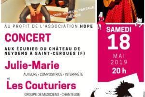 Concert 18 mai 2019 aux Écuries du Château de Neydens