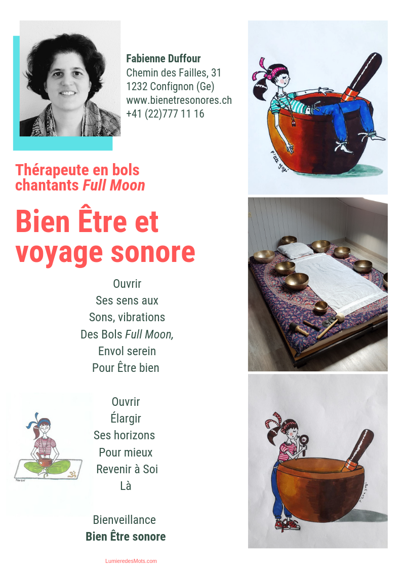 Bien-Etre sonore - Fabienne Duffour-Confignon-Genève-Suisse romande