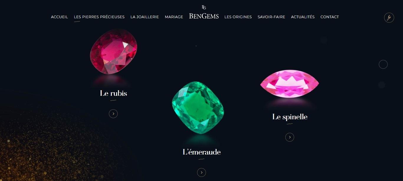 Nouveau site BenGems