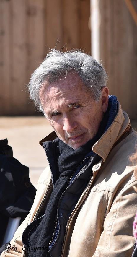 Thierry Lhermitte animateur de stage d'éthologie - DR Béa Mogenier