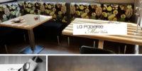 La Pagerie montage photos - restaurant - Gaillard - Chef Michel Verdu